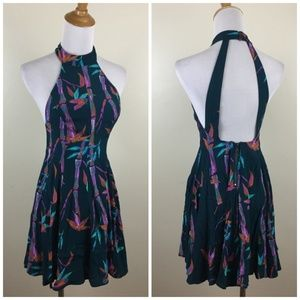 NWT KIMCHI BLUE Urban Outfitters Open Back Dress